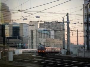 Train in Brussels