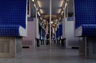 Hamburg - in der S-Bahn
