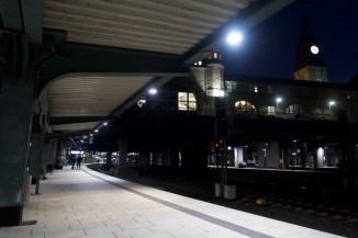 Hamburg Hauptbahnhof um 17:26 Uhr