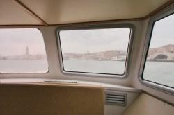 Venedig - Fahrt mit dem Schiff vom Flughafen direkt zum Markusplatz