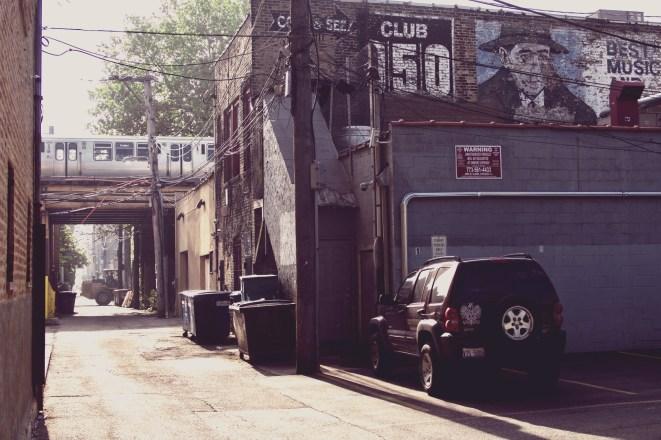 Mit einem Filter kann man den nostalgischen Charme dieser Straßenszene in Chicago noch ein bisschen mehr betonen