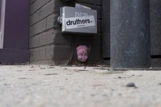 Auch für die kleinen Mäuse und Ratten gibt es Streetart im Greenwich Village