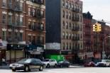 Auf der Amsterdam Avenue laufe ich über 100 Blocks nach Süden