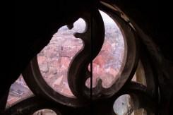Blick aus dem Turm der evangelischen Stadtpfarrkirche