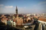 Aussicht vom Rathausturm, Turnul Sfatului