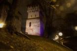 Der Töpferturm bei Nacht