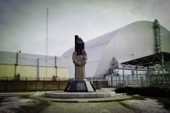 Das Denkmal für den Super-GAU