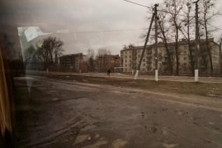 Das Leben für die Arbeiter in Tschernobyl scheint ziemlich trist