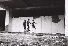 Graffiti in Pripyat - Spielende Kinder