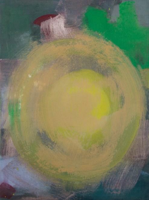 Gelb: 2. Bild aus der Tempera Serie zu Rot, Gelb und Blau, 30x40 cm