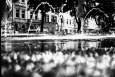 Wasserspiele auf dem Frankenbadplatz