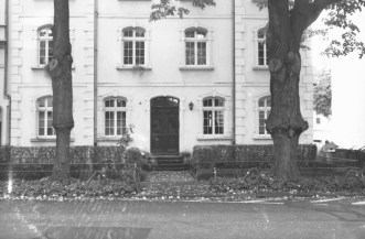 Graurheindorferstraße mit gepfropften Bäumen.