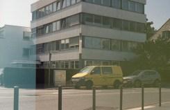 An der Ecke Dahlmannstraße war die Pressemeile in Bonn