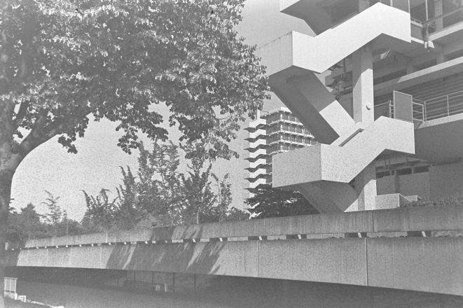 Kreuzbauten Bonn auf ORWO TC27 mit Beerol entwickelt