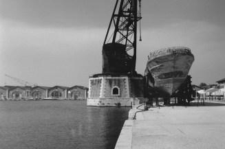 Während der Biennale kann man auch das Arsenale von Venedig besichtigen
