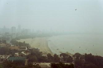 Blick auf Mumbai von den Hanging Gardens