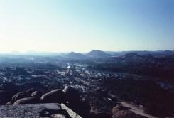 Blick vom Matanga Hill über Hampi