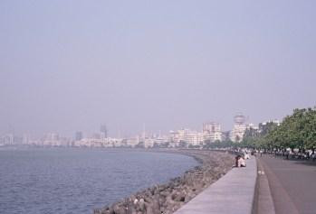 Marine Drive und Skyline von Bombay