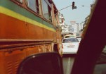 Unterwegs im Stau in Mumbai