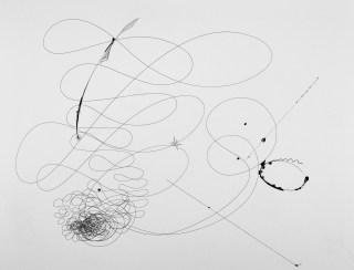 Offene Systeme Malerei und Zeichung - Fineliner, 56 x 76 cm