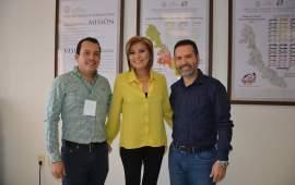 Ana María Condado recibe al Alcade de Playa Vicente