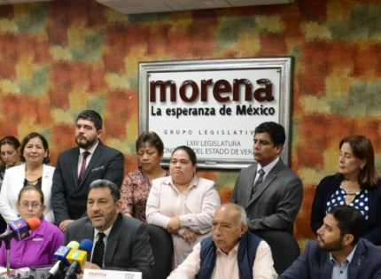 El Gober, volvió a darle palo al PRI-MORENA en Congreso