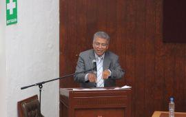 """El Magistrado Daniel Ruiz dicta conferencia """"El divorcio incausado y la pensión compensatoria en la legislación del Estado de Veracruz"""""""