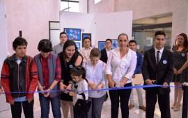 """Dip. Cinthya Lobato Inaugura exposición """"Arte para crecer"""" en el Congreso del Estado"""