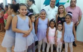 Inaugura Joaquín Caballero el Centro de Desarrollo Comunitario de la Unidad Deportiva La Alameda