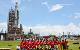Pemex celebra al personal de contraincendios
