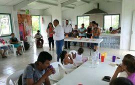 Degustación de platillos en Comedor Comunitario de Coatzacoalcos