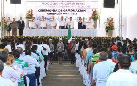 ITES-Choapas realiza Ceremonia de Graduación 2012-2017