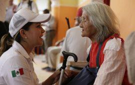 En Sedesol la atención a los adultos mayores es una prioridad: Anilú Ingram