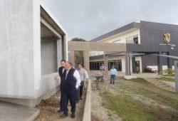 Visita Juzgados y la Ciudad Judicial de San Andrés Tuxtla el Magistrado Presidente, Edel Álvarez Peña