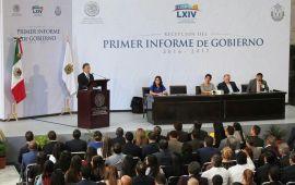 Gracias al cambio hay gobernabilidad, estabilidad política, democracia y paz social, afirma el Gobernador Yunes Linares