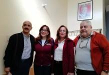 Rocío Nahle y Ricardo Ahued se registran como aspirantes de Morena al Senado