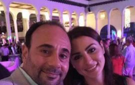 Se casa Luis Chagra con ex esposa de Borge.