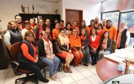 En el Tribunal Superior de Justicia de Veracruz se apoya el #DíaNaranja