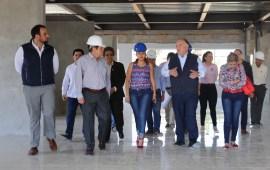 Edel Álvarez, realiza un recorrido por la construcción de Salas de Juicios Orales y Juzgado de Juicio Oral de la ciudad de Huatusco