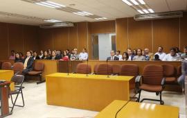 Inaugura Magistrado Presidente Edel Álvares el Taller de Oralidad Penal en la sede del Poder Judicial del Estado de Veracruz