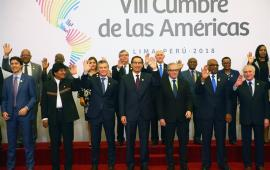 Inicia la sesión plenaria de la VIII Cumbre de las Américas