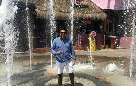 Regidor de CATEMACO del ramo de Turismo, escapa de la inseguridad y se va de vacaciones