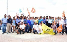 Maricela TRONCO expone sus propuestas en Minatitlán