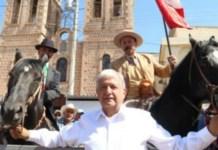 México, mucho pueblo para Anaya; Meade, tapadera de la mafia: AMLO
