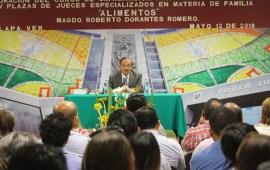 Garantizar alimentos en casos de divorcio, una prioridad para juzgadores: Magistrado Roberto Dorantes