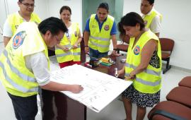 Inicia en el Distrito Judicial VI de Tuxpan adiestramiento a servidores públicos en Protección Civil