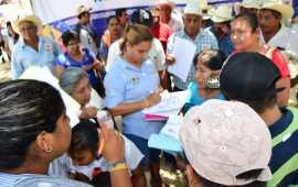 La zona rural de Minatitlán muestra aceptación del plan de trabajo de Maricela TRONCO