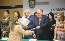 Entrarán en funciones 15 Juzgadores de Primera Instancia en Materia Familiar en septiembre próximo: Magistrado Presidente Edel Álvarez