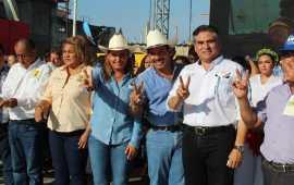 MARICELA TRONCO CIERRA CAMPAÑA CON ARRAIGO Y CON CARACTER