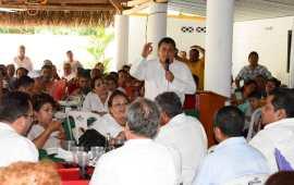 Trabajar por el bienestar de los veracruzanos, una prioridad: Juan Nicolás Callejas